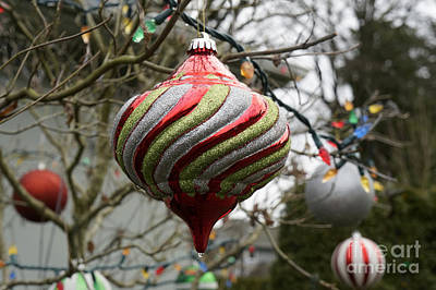 Photograph - Christmas Ornaments by John  Mitchell