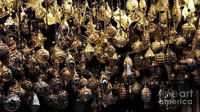 Photograph - Christmas Ornaments by John Rizzuto
