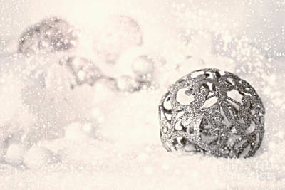 Mythja Digital Art - Christmas Ornaments by Mythja  Photography