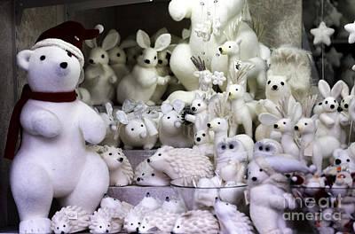 Photograph - Christmas Polar Bears by John Rizzuto