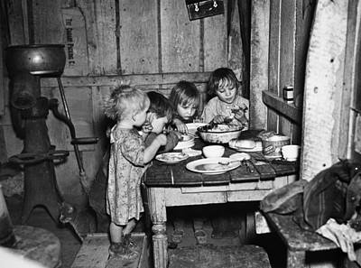 Photograph - Christmas Poor, 1936 by Granger