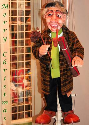 Photograph - Christmas Puppet by Gordon Elwell