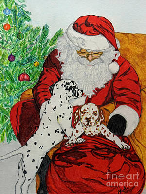 Christmas Puppy Original by Jacki McGovern