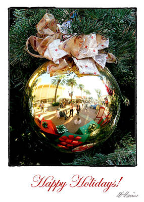 Photograph - Christmas Reflections by Diana Haronis