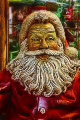 Photograph - Christmas - Santa Claus by Lee Dos Santos