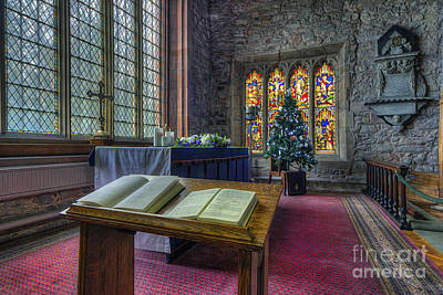 Photograph - Christmas Service by Ian Mitchell