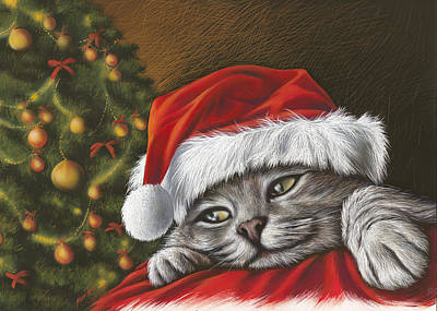 Christmas Special 2 Art Print by Mahtab Alizadeh