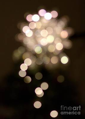 Photograph - Christmas Star Bokeh by Chris Anderson
