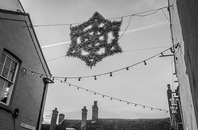 Art Print featuring the photograph Christmas Star by David Isaacson