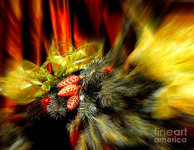 Photograph - Christmas Still Life by Michael Hoard
