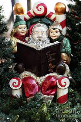 Christmas Stories Print by John Rizzuto