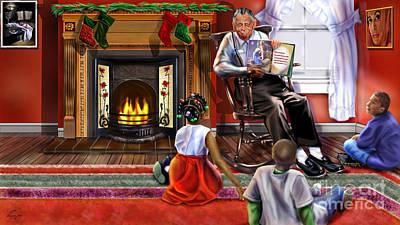 Christmas Story Art Print by Reggie Duffie