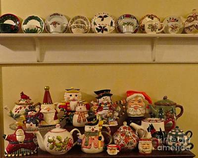 Photograph - Christmas Tea by Nancy Patterson