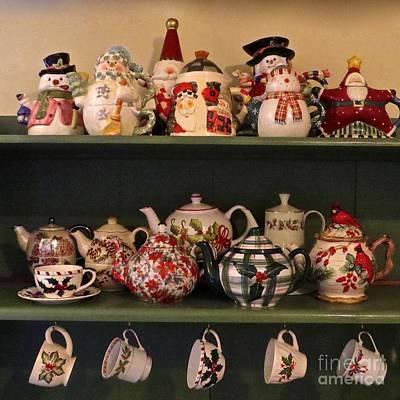 Photograph - Christmas Tea Time  by Nancy Patterson
