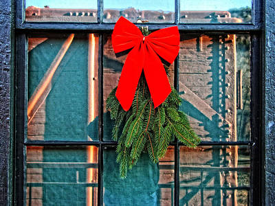Photograph - Christmas Time At Chester Depot by Mike Martin