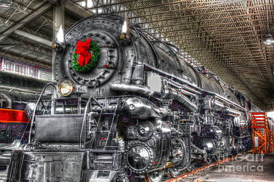 Christmas Train-the Holiday Station Art Print