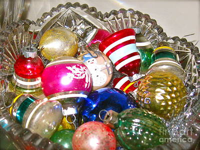 Photograph - Christmas Treasures From The Past  by Nancy Patterson