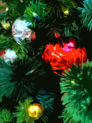 Photograph - Christmas Tree by Bill Owen