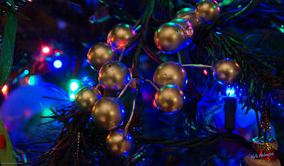 Photograph - Christmas Tree Detail 1 by Mick Anderson