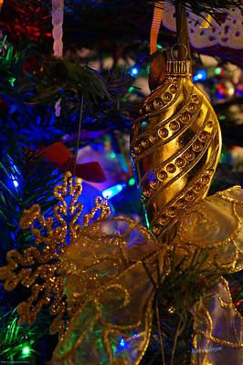 Photograph - Christmas Tree Detail 2 by Mick Anderson
