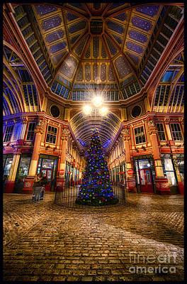 Christmas Tree Leadenhall London I Art Print