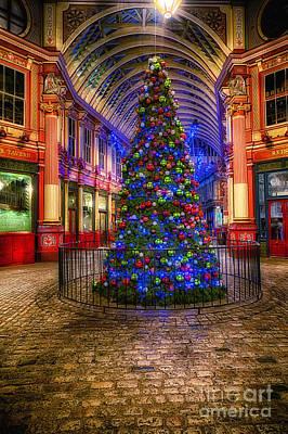 D700 Photograph - Christmas Tree Leadenhall London II by Jack Torcello