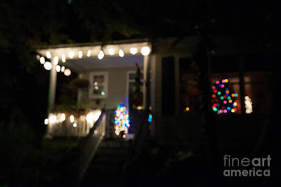 Photograph - Christmas Tree In Window by Dale Powell