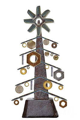 Christmas Tree Art Print by Michal Boubin