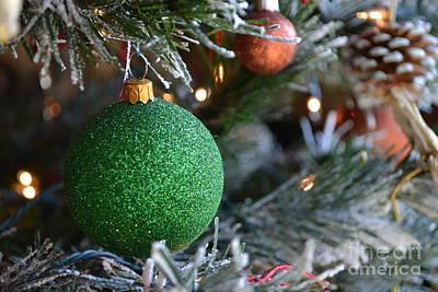 Christmas Tree Ornament Original by Briella Danowski