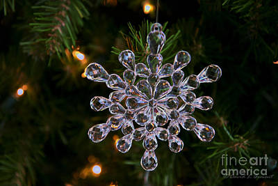 Photograph - Christmas Tree Ornament by David Arment