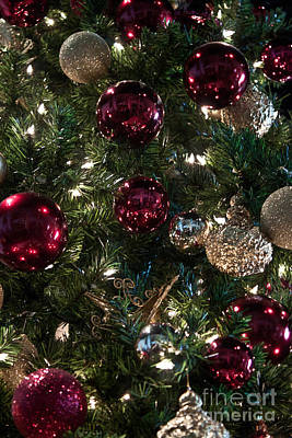 Photograph - Christmas Tree Ornaments 2 by Joann Copeland-Paul