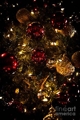 Photograph - Christmas Tree Ornaments 3 by Joann Copeland-Paul