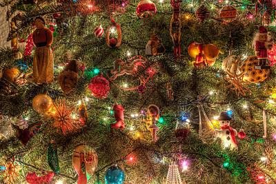 Christmas Tree Ornaments Art Print by Sonny Marcyan