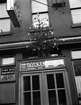Photograph - Christmas Tree Over Philadelphia Bar by Science Source