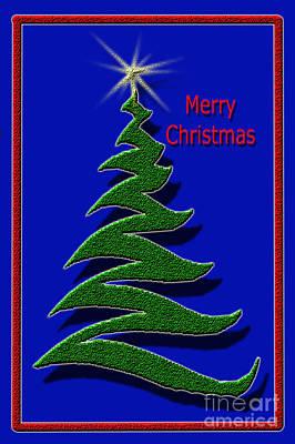 Digital Art - Christmas Tree by Randi Grace Nilsberg