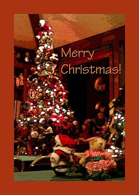 Jerry Sodorff Royalty-Free and Rights-Managed Images - Christmas Tree Santa 22000 by Jerry Sodorff