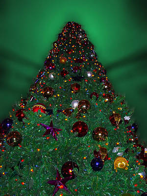 Christmas Tree Art Print by Thomas Woolworth