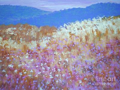 Christmas Valley Oregon Art Print by Suzanne McKay