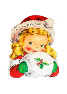 Christmas Wish Art Print by Munir Alawi