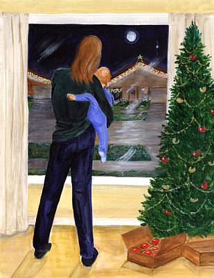 Painting - Christmas Without You by Dorothy Riley