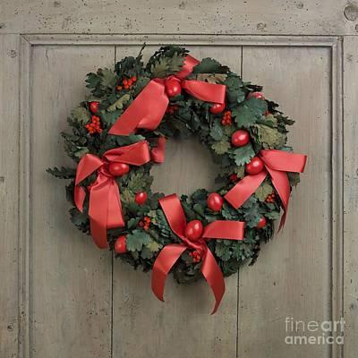 Photograph - Christmas Wreath by Bernard Jaubert