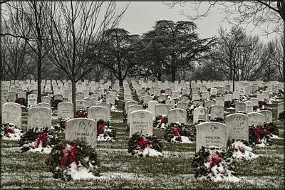Photograph - Christmas Wreaths by Erika Fawcett