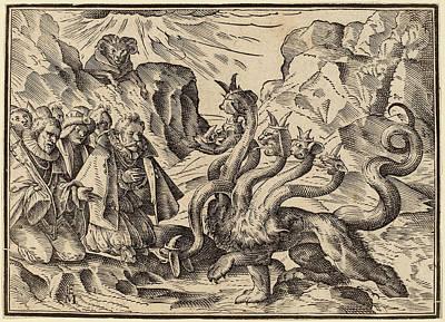 Four Horsemen Drawing - Christoph Murer, The Four Horsemen Of The Apocalypse by Quint Lox
