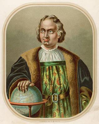 Christopher Columbus, Italian Art Print