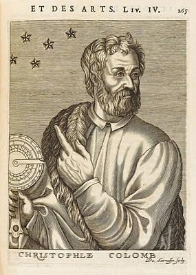 Christopher Columbus  Spanish Explorer Art Print