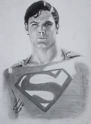 Christopher Reeves As Superman Original