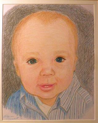 Painting - Christopher by Sharon Casavant