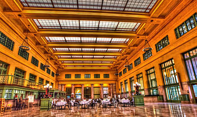Lowertown Photograph - Christos Saint Paul Union Depot by Amanda Stadther
