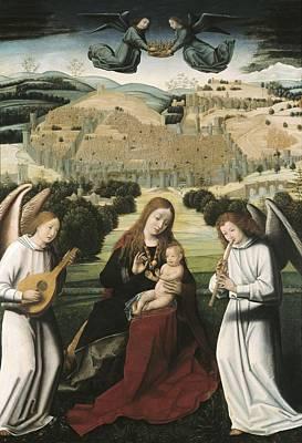 Christus, Petrus. The Virgin Art Print