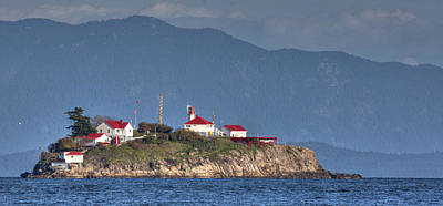 Photograph - Chrome Island Lighthouse by Randy Hall